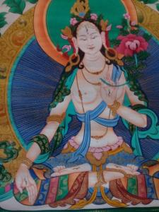 Thanka White Tara