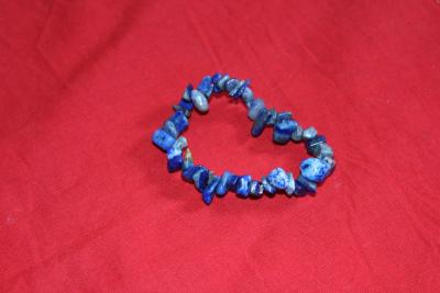 Bangle Chip stone,Lapis lazuli 8 mm