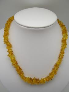 Amber Necklace chip stone- 50cm-from Baltik